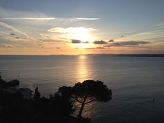 Sunset in Nice, French Riviera, France by www.yourguideboba.com