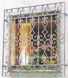 manufacturer iron window boxes decoration window grills