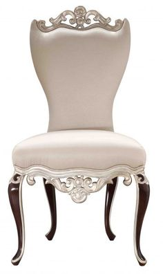 My bedroom ~ this chair would look great with my lingerie draped over it.