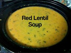 EmailTweet 0 Full-screen Red Lentil Soup   Soup August 29, 2014 Red Lentil Soup 0 0 5 0 Prep: 10 mins Cook: 5 hrs 10 mins 5 hrs 5 hrs 10 mins Ingredients6 Cups Chicken Stock 500g Red Lentils 1 Onion diced 4 cloves garlic crushed 1 Tbsp ground cumin 1/2 Tspn Cayenne pepper Directions1Place all …