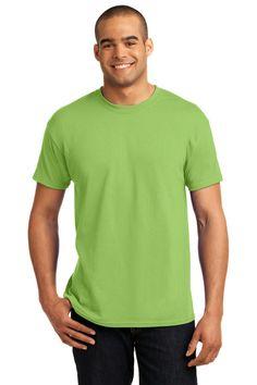 1f040c5435f10 Hanes - EcoSmart 50 50 Cotton Poly T-Shirt. 5170. Men s ...