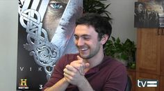"Vikings (History Channel): George Blagden (""Athelstan"") Interview, via YouTube."