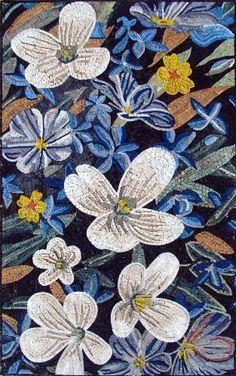 "40x64"" Marble Mosaic Stone Art Tile Wall Floor Flower by mozaico, http://www.amazon.com/dp/B003DUYC4Y/ref=cm_sw_r_pi_dp_1Is6rb186NV09"