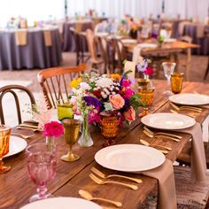 Happy Friday!!! We're just thrilled to be a part of the team of vendors who worked on Katie & Jonathan's beautiful Boho Summer Wedding which was featured on @greenweddingshoes this week! Head on over to their website to see the tablescape details, styled lounges and more! #lootinaction #tablescape #bohowedding #vintagerentals  Florals by @gypsyfloral Photography by @tara.welch.photo Venue @mercuryhall Tap for full vendor details