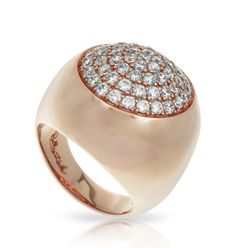 Ritz Rose Gold Ring by Belle Étoile.  Silver Jewelry.  Rose Gold.  Fashion Jewelry.  Street Fashion