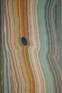 Turlapunja (rockhole) / Yikartu Bumba   103cm x 151cm
