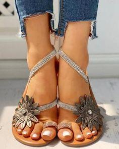 Bohemian Flat Peep Toe Date Travel Flat Sandals Sandals for women for women for women Work,Sandals for women Toe Ring Sandals, Toe Rings, Flat Sandals, Strap Sandals, Stilettos, High Heels, Pumps, Casual Rings, Casual Shoes