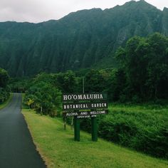 Ho'omaluhia Botanical Garden, Oahu, Hawaii