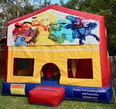 We offer free delivery within a radius of Cooroy & provide quality jumping castles to Gympie Council and Sunshine Coast Council residents. Obstacle Course, Basketball Hoop, Sunshine Coast, Sun Protection, Castles, Book, Happy, Chateaus, Books