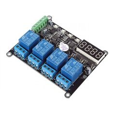 4 Channel Time-delay Relays With RS485 DC 12V  #time_delay_relays #12v_relays #delay_relays #relays_12v #delay_relays Time-delay relays are of great use in industrial and home automation. It can be used for flashing light control as well as  engine autostart control and etc.