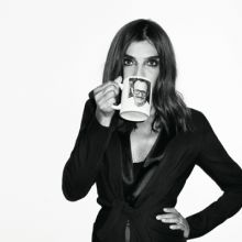 Carine Roitfeld by Terry Richardson. Note the Terry Richardson mug!