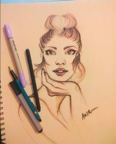She's my cute Rose, Sketch by AnSr-illustrator