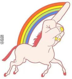 when people piss you off, just send them a Fuck Younicorn #9IMG #funny #meme