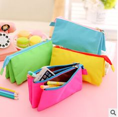 Kawaii Square Women Children Coin Purse Zipper Card Holder Pouch Bag Y2