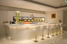 Veuve Clicquot Champagne Bar at Harrods by Elemental Design