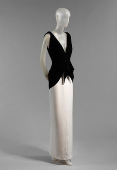 Yves Saint Lau Paris Evening Dress French The Met