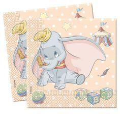 Dumbo Napkins Christening Baby Shower Napkins | eBay