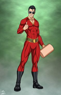 Dc Comics Superheroes, Dc Comics Characters, Dc Comics Art, Superhero Costumes Female, Captain America Wallpaper, Heroes Reborn, Plastic Man, Superhero Design, Super Hero Costumes