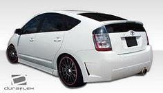 Cool Prius body kit rear view