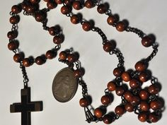 The Rosary belonging to St. Therese while in Carmel.