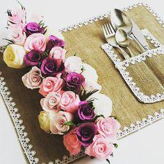 Pink Purple GARLAND RUSTIC decorations wedding TABLE