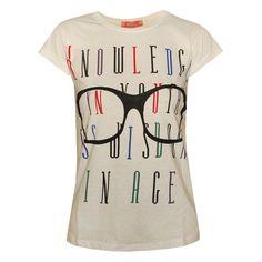 Γυναικεία μπλούζα Knowledge.Δες την εδώ--> http://be-casual.gr/gynaika/mplouzes/mplouza-knowledge.html