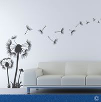 Dandelions (WANF1) Dandelions, Decorative Items, Planting Flowers, Wall Art, Studio, Dining Area, Plants, Decor Ideas, Beautiful