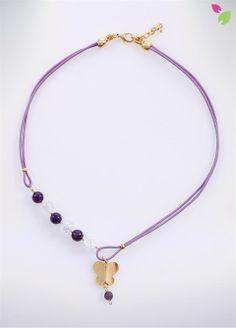 Κολιέ CRYSTALROCK Diy Jewelry, Jewelry Necklaces, Jewellery, Bohemian Necklace, Beaded Necklace, Nespresso, Diy And Crafts, Sari, Jewels