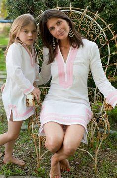Mommy and Me Seersucker Tunic Dress (For Moms)   Tuckernuck
