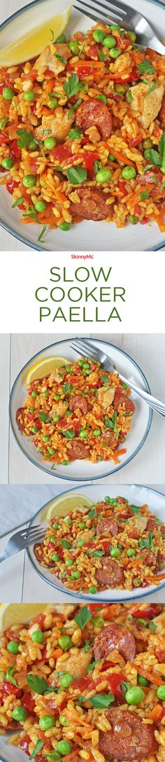 The search for great tasting paella is over! | Slow Cooker Paella