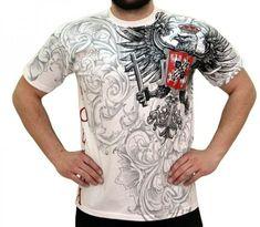 T-shirt patriotyczny 'Polska' HD - przód ---> Streetwear shop: odzież uliczna, kibicowska i patriotyczna / Przepnij Pina! My Family History, Streetwear Shop, Street Wear, Poland, Mens Tops, Tattoo, Shopping, Life, Style