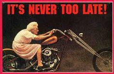 Il n'est jamais trop tard !
