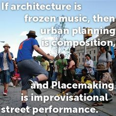 On Placemaking and metaphors