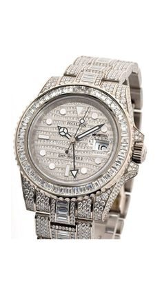 Watch of Distinction: Rolex watches are among some of the most expensive time pieces in the world. Beautiful!