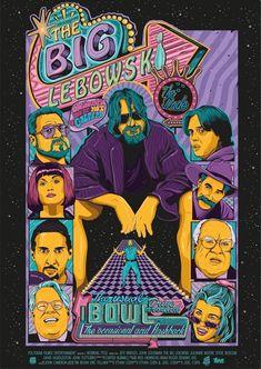BROTHERTEDD.COM Big Lebowski Poster, The Big Lebowski, Brothers Movie, Coen Brothers, Avatar Images, Best Movie Posters, Alternative Movie Posters, Cinema, Vintage Posters