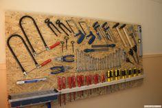 Werkzeugplatte aus OSB... coole Idee