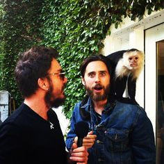 Shannon, Jared and the Mars Monkey!
