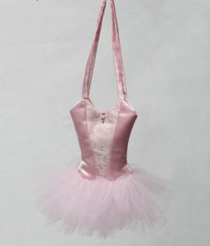 A Little Ballerina Ballet Bag PDF Sewing Pattern from Laura Lee Burch