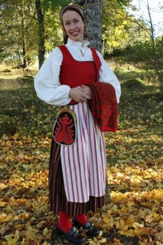 Forsa, Hälsingland Folk Costume, Costumes, Swedish Style, Daily Dress, World Cultures, Traditional Outfits, Sweden, Scandinavian, Fashion Dresses