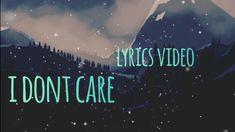 Ed Sheeran & Justin Bieber - I Don't Care [ Lyric Video] Justin Bieber Videos, Justin Bieber Song Lyrics, Ed Sheeran Justin Bieber, Rap Song Lyrics, Rap Songs, Music Songs, Music Quotes, Ed Sheeran Music Video, Ed Sheeran Lyrics