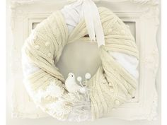 Head to your local dollar store for the supplies to make this Simplest Scarf-Wrapped DIY Wreath. Many of the materials are surprisingly super cheap and easy to find. This gorgeous DIY Christmas wreath is so easy to make. Noel Christmas, Winter Christmas, Christmas Wreaths, Christmas Crafts, Christmas Ideas, Xmas, Holiday Ideas, Holiday Decor, Winter Wreaths