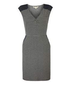 Navy & White Stripe Bodycon Dress #zulily #zulilyfinds
