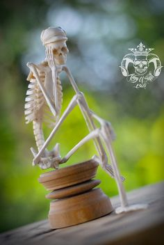 20 Best Hand Carved Deer Antler Skeleton sit and daydream images in