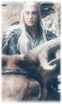 Lee Pace as Thranduil in The Hobbit Trilogies