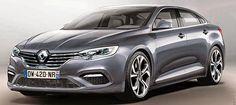 Voici une proposition pour la Renault Laguna 2016. Cette future version pourrait prendre les traits de la nouvelle Renault Espace 2015.