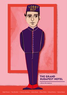 The Grand Budapest Hotel - poster