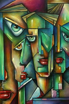 The Wall Painting by Michael Lang