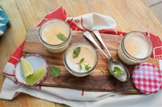 Coconut Panna Cotta with Lime and Ginger Syrup Serves 4 | Preparation time 10 minutes | Cooling time 3 hours WHAT YOU'LL NEED 1 Tbsp caster sugar 400 ml cream 400 ml coconut milk 1 vanilla pod, halved lengthways 1 tsp coconut essence 3 gelatine leaves, soaked in room temperature water (use 4 gelatine leaves … Continue reading Coconut Panna Cotta with Lime and Ginger Syrup