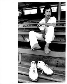 Imran Khan takes his shoes off after the first session of play. Imran Khan puts his shoes on. Imran Khan opens the attack for Sydney UNI against Wavely. November by Peter Morris/Fairfax Media via Getty Images). Imran Khan Cricketer, Imran Khan Pakistan, Sunset Wallpaper, King Of Hearts, Role Models, The One, Fairfax Media, Lady, Uni