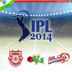 IPL 2014 – Review Of Match Between Kings XI Punjab And Delhi Daredevils